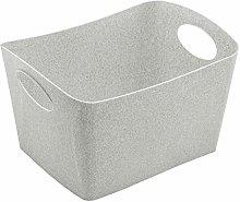 Koziol Storage bin, thermoplastic, Organic Grey, S