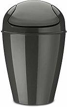 Koziol Swing-Top Wastebasket, thermoplastic, deep