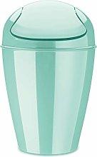 Koziol Swing-Top Wastebasket, thermoplastic, spa