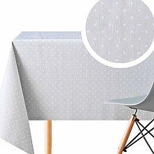 KP HOME Large Grey With White Polkadot PVC Wipe