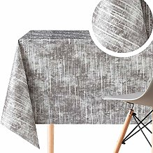 KP HOME Modern Pattern Wipe Clean Tablecloth -