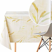 KP HOME Traditional Wipe Clean Tablecloth With