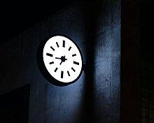 Kpoiuy Clock Dial Backlight Building Dark