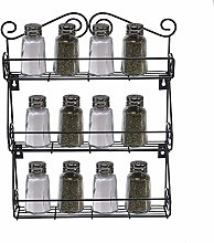 KPOON Spice Holder3 Tier Kitchen Bottle Spice Rack