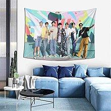 Kpop Bts Bangtan Boys Dynamite Tapestries Art
