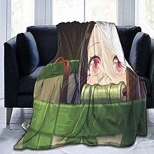 KPSHY Flannel Anime Blanket Demon Slayer Kamado