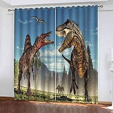 KQDMYT Blackout Curtain Thermal Insulated Forest