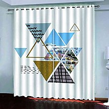 KQDMYT Blackout Curtain Thermal Insulated