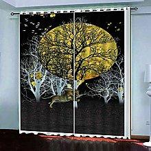 KQDMYT Living Room Bedroom Eyelet Blackout