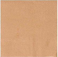 Kraft Party Supplies, Brown Paper Napkins (5 x 5