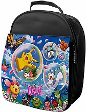 KRAFTYGIFTS Personalised Lunch Bag Pokemon Cooler
