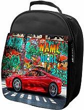 KRAFTYGIFTS Personalised Lunch Bag Race Car Cooler