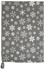 Krasilnikoff - Dish Cloth Snowflakes Brown / white