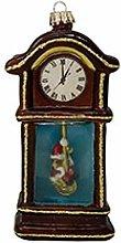 Krebs Glas Lauscha Nostalgic grandfather clock