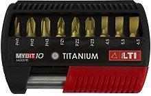 KRINO 66005110Titanium Inserts for Screwdrivers,