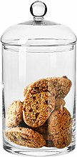 Krosno Sweet Cookie Glass Storage Jar with Lid  