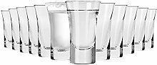 Krosno Vodka Glasses | Set of 12 Pieces | 45 ml |