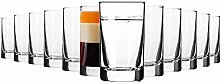 Krosno Vodka Glasses | Set of 12 Pieces | 50 ml |