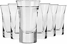 Krosno Vodka Glasses | Set of 6 Pieces | 45 ml |