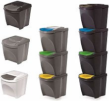 KrysGo 20 Litre Large Stackable Recycling Sorting