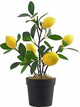 Kslogin Artificial Fruit Tree Simulation Lemon