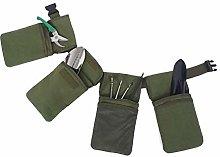 Kslogin Multifunctional Garden Tool Belt Bag, Gray