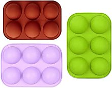 KSSTOO 3 Pcs Bake Silicone Easter Egg Chocolate