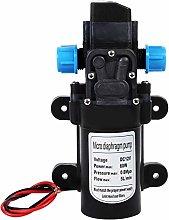 KSTE DC 12V 0.9Mpa 6L//Min Water High Pressure Diaphragm 70W Self Priming Pump