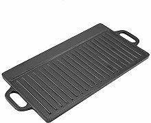 KSTE Cast Iron Griddle Pan - Non Stick Griddle