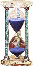 KSWD Hourglass Sand Timer Sandglass Crystal, 30/60