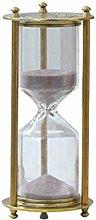 KSWD Hourglass Sand Timer Sandglass Metal Antique,