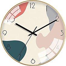 KTNG Funky Wall Clock,silent No Ticking