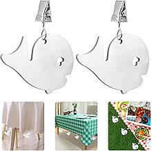 KTSM-Stop-T Home 4pcs Tablecloth Weights Table