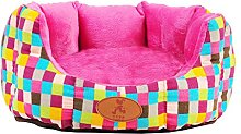 KTYX Pet Nest Cat And Puppy Sofa Bed Removable And