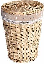 KTYX Woven Storage Basket,Woven Wicker Laundry