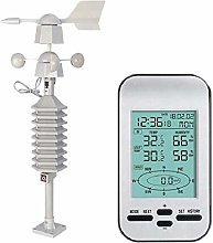 KU Syang RF 433Mhz Weather Station Clock with Wind