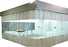 KUAIE Transparent Curtains,0.5mm PVC Plastic Tarps