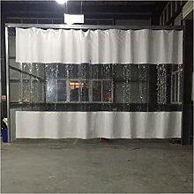 KUAIE Transparent Curtains,0.5mm PVC Rainproof