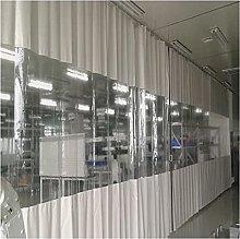 KUAIE Transparent Curtains,0.5mm PVC Waterproof