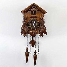 KUANDARMX Cuckoo Clock Black Forest Cuckoo Clock