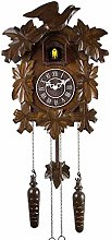 KUANDARMX Handcrafted Cuckoo Clock, Chalet-Style