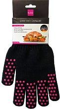 Kubb K044 Cotton Oven Gloves Black