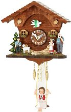 Kuckulino Black Forest Clock with cuckoo, incl.