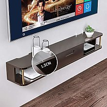 Kücheks Wood Floating Tv Console Shelves Drawer,