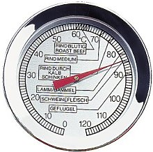 Küchenprofi Meat Thermometer in Silver, Stainless