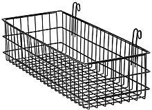 KuFOX Grid Panel Wall Mounted Wire Hanging Basket