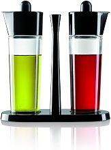 Kuhn Rikon Bistro Oil And Vinegar Set, Black