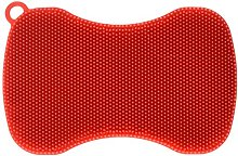 Kuhn Rikon Silicone Scrubber, Red, 1