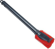 KUHN RIKON Stay Clean Silicone Sponge Brush, Red,