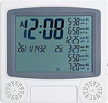 KUIDAMOS Azan Clock, Gray 23.5x4x22.5cm Muslim